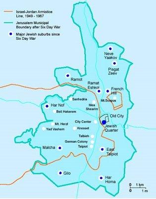 Jerusalem-map