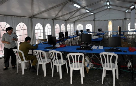 Ashdod-tent