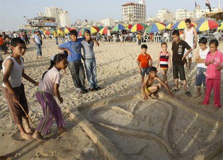 Gaza-beach