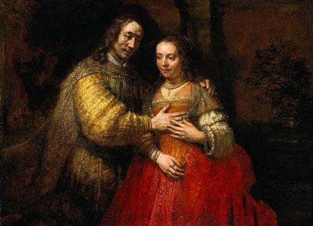 Rembrandt_jewish-bride