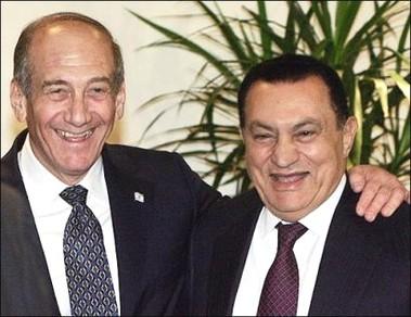 Olmert-mubarak