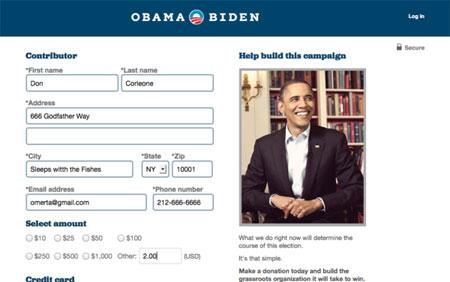 Obamadonation