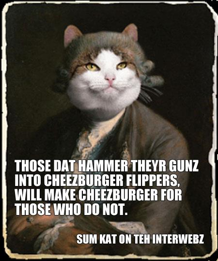 Guns-cheeseburgers